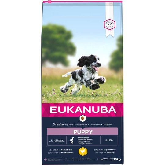 Eukanuba Puppy Medium Breed (15 kg)