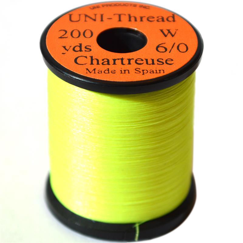 UNI bindetråd 6/0 - Chartreuse 200y