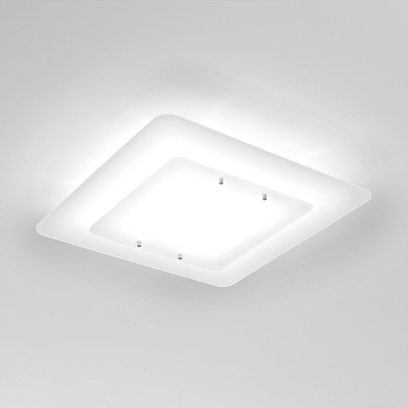 Hvit taklampe Pop-Up