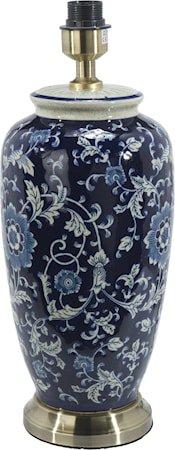 Li Jing Lampefot Mørkeblå 49cm