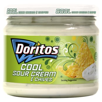 Doritos Cool Sour Cream & Chives Dipping Sauce