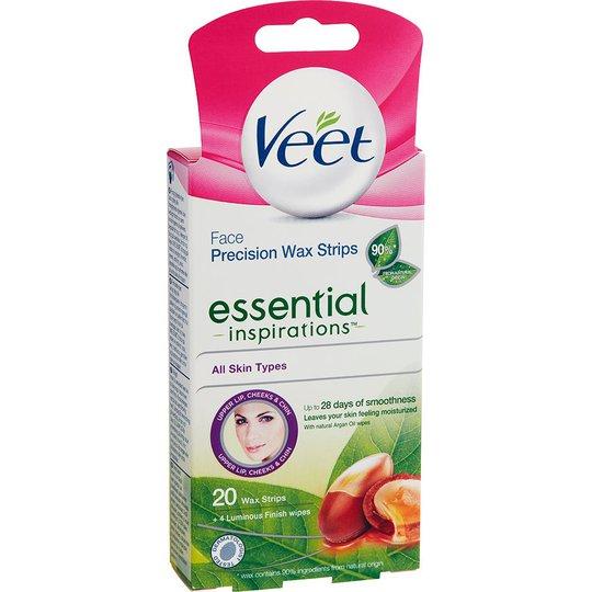 Veet Essential Inspiration Strips Face, Veet Vaha