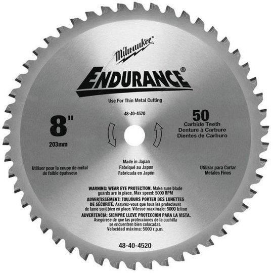 Milwaukee 48404520 Sahanterä 203x15,87mm, 50T