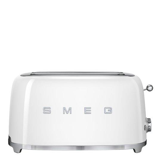 Smeg - 50's Style Brödrost 4 skivor Vit