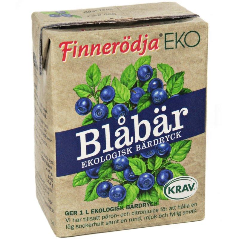 Eko Bärdryck Blåbär - 23% rabatt