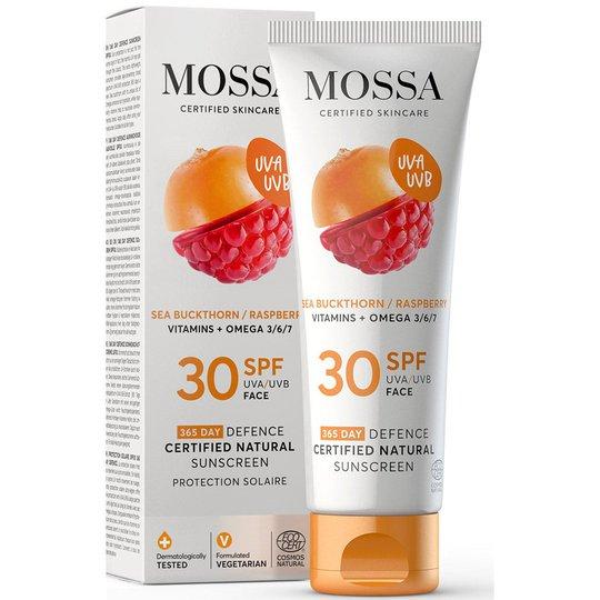 365 Days Defence Certified Natural Sunscreen, 50 ml MOSSA Aurinkovoiteet