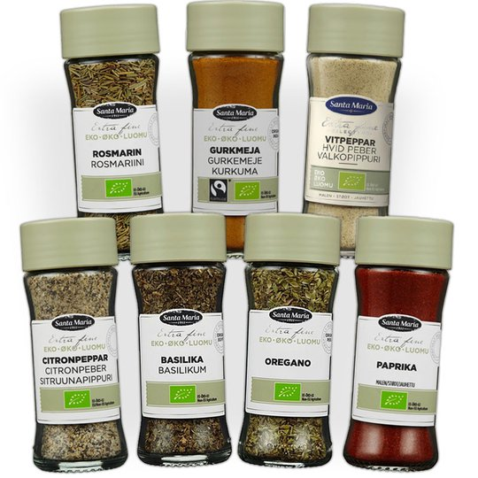Ekologiska Kryddpaketet - 61% rabatt