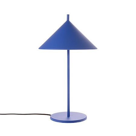 Bordlampe Triangle Metall Blå