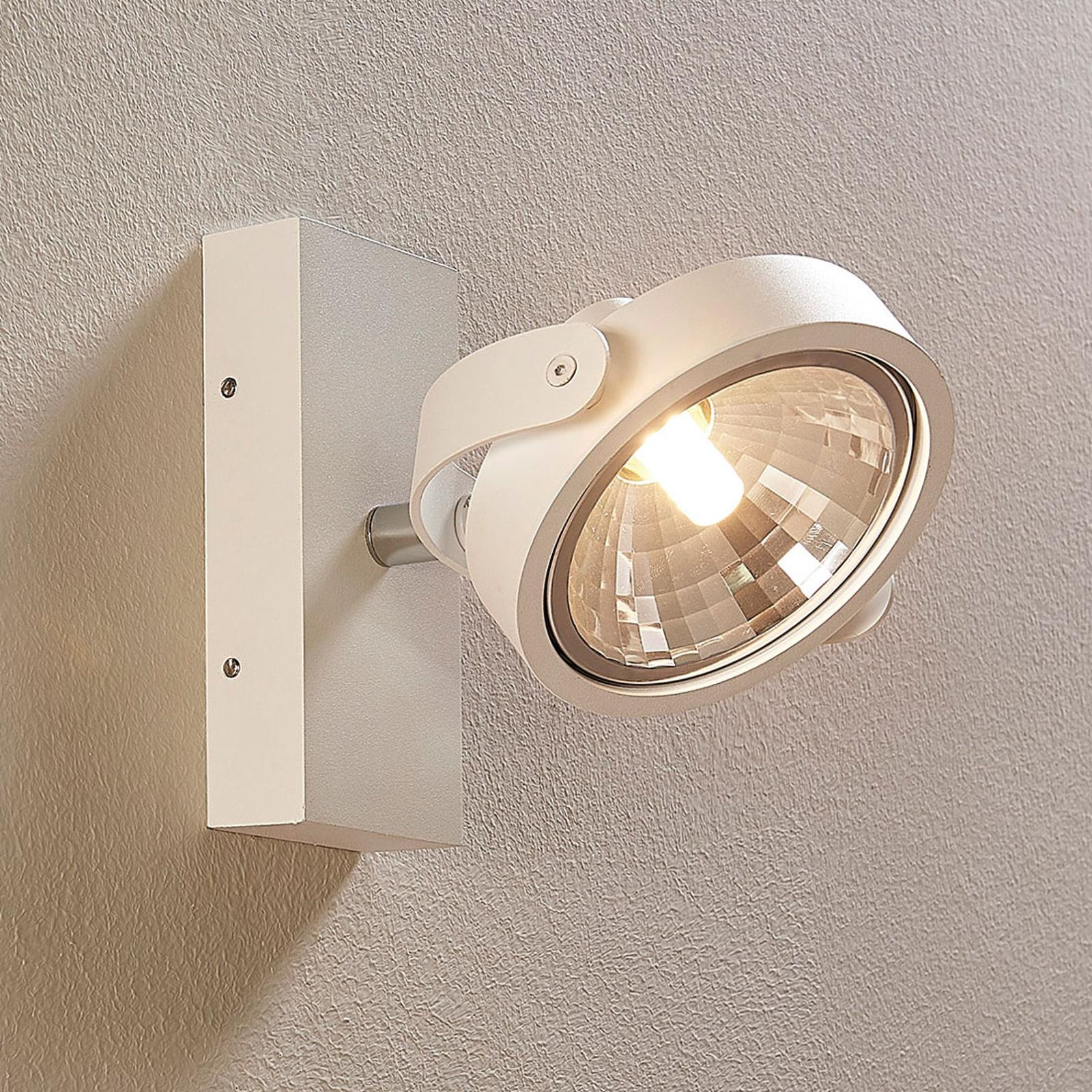 Valkea LED-kohdevalaisin Lieven, seinä ja katto