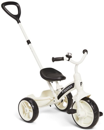 Pinepeak Tricycle, Hvit/Svart