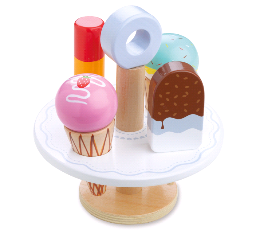 Small Wood - Little Ice Cream Stand (L40181)