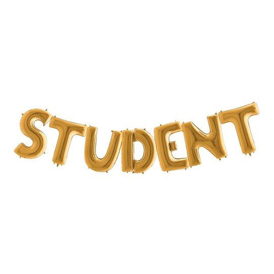 Ballonggirlang Student Stor Guld