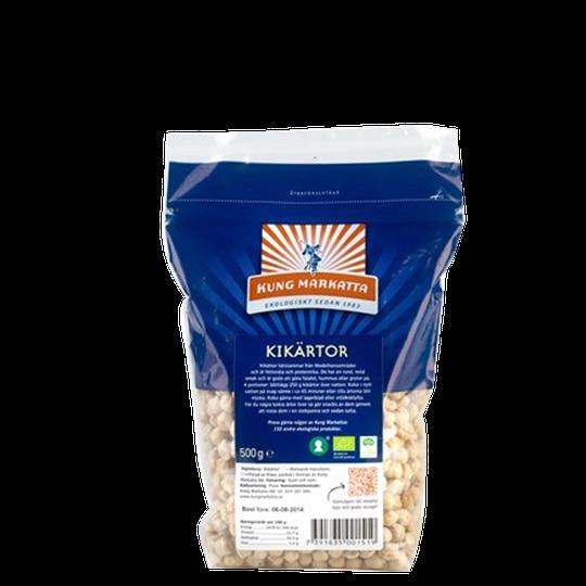 Kikärtor, KRAV, 500 g