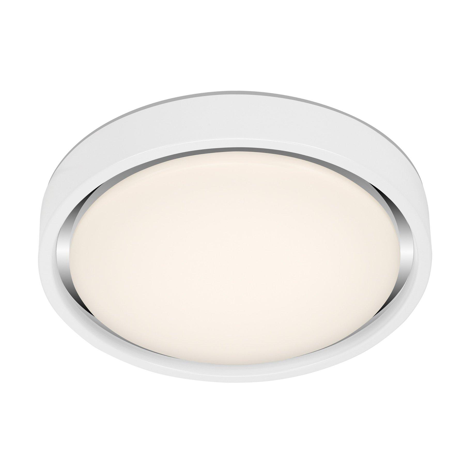 LED-taklampe Talena M RGB CCT, sensor, hvit