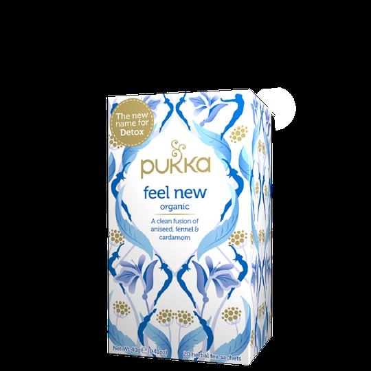 Feel New, 20 tepåsar