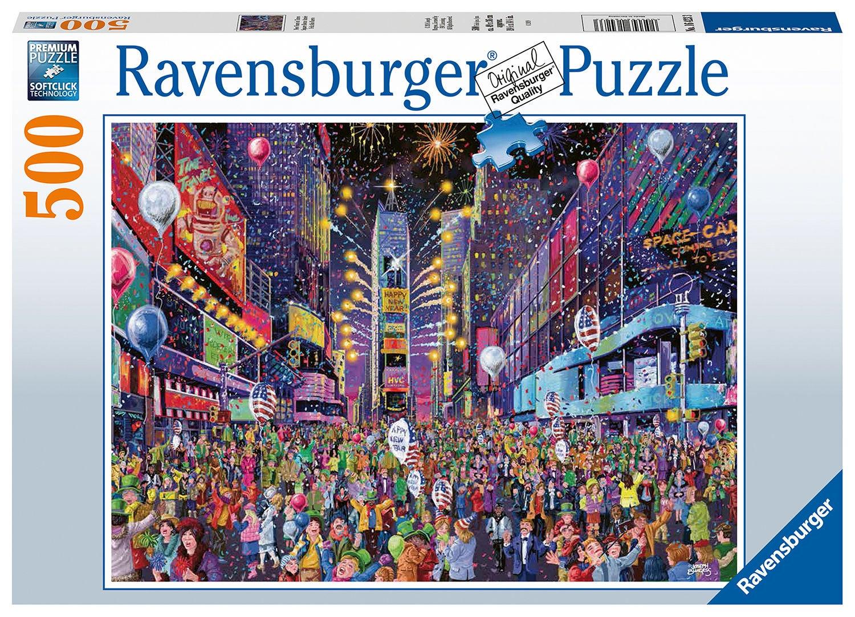 Ravensburger Pussel Nyår I Times Square 500 Bitar