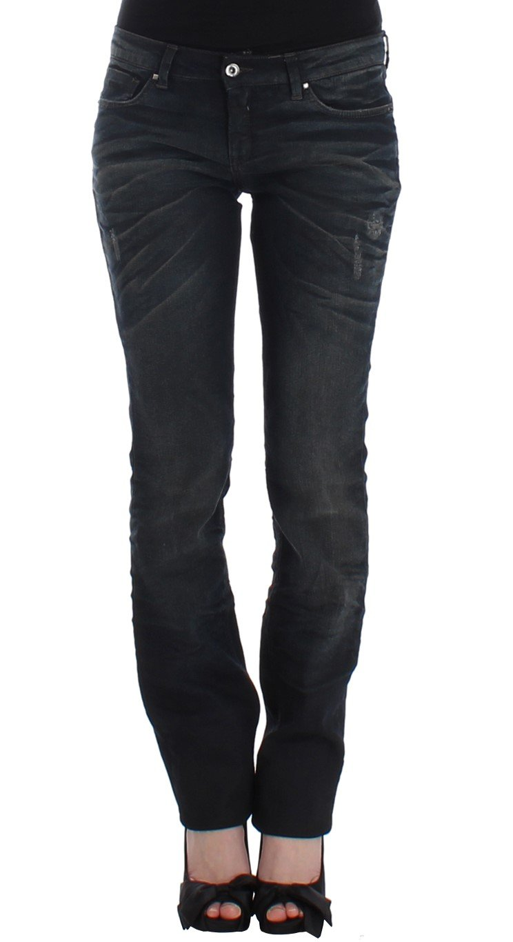 Costume National Women's Skinny Leg Jeans Blue SIG12558 - W32