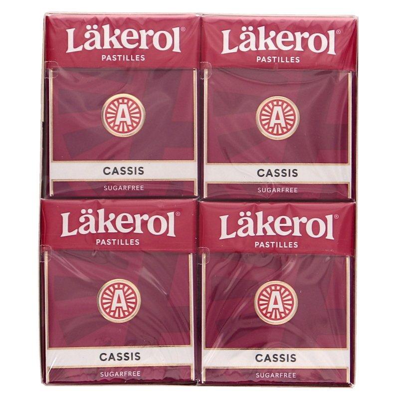 Läkerol Cassis 4-pack - 36% rabatt