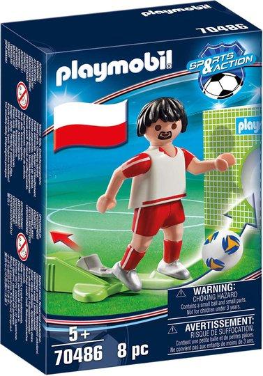 Playmobil 70486 Polsk fotballspiller