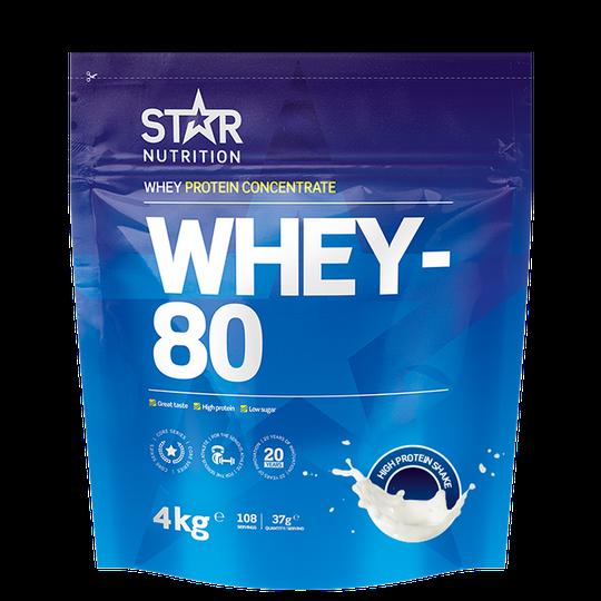 Whey-80, 4 kg