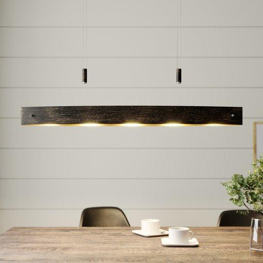 Musta LED-riippuvalaisin Lio, kultasomisteet