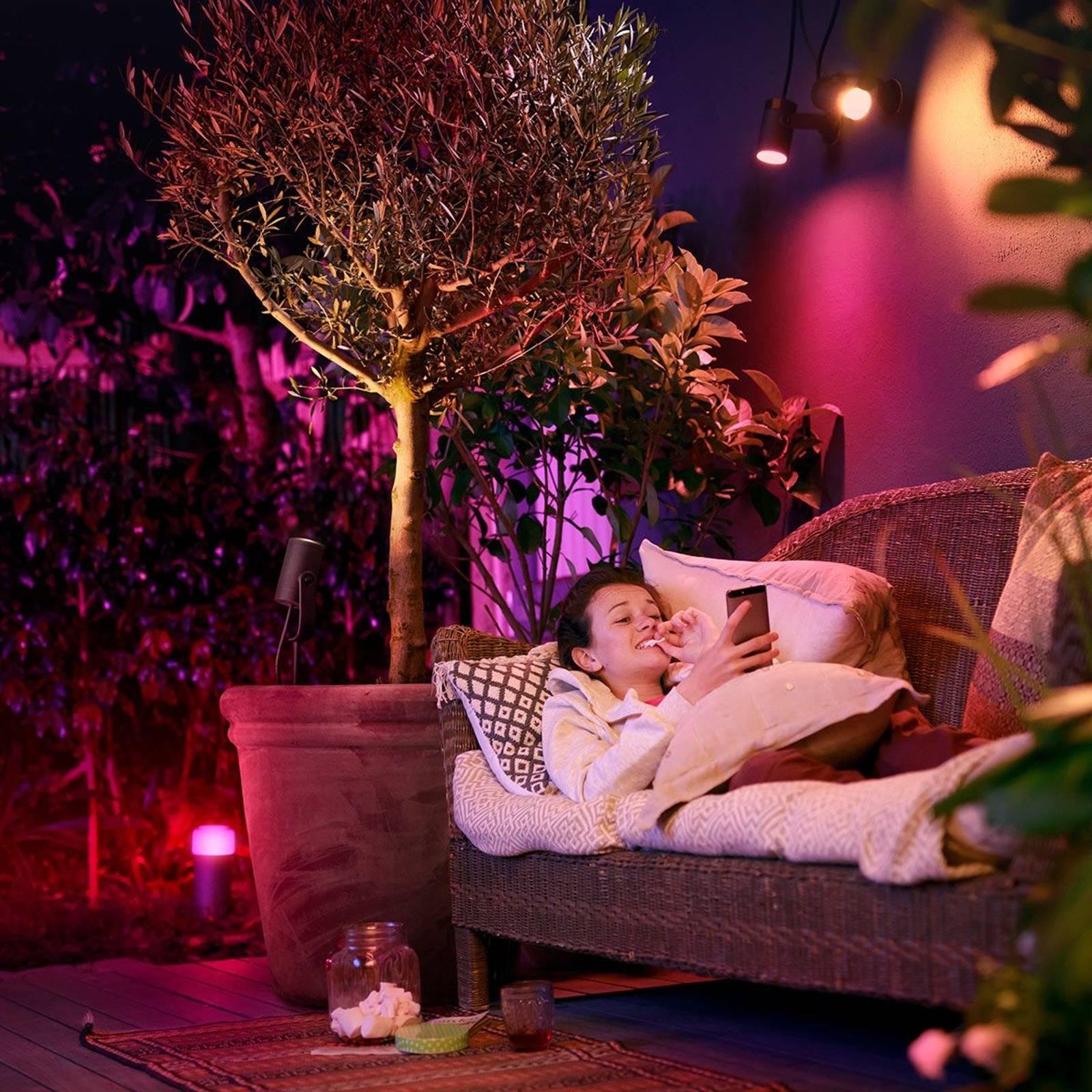 Philips Hue -LED-jatkospotti Lily 1-lamppuinen