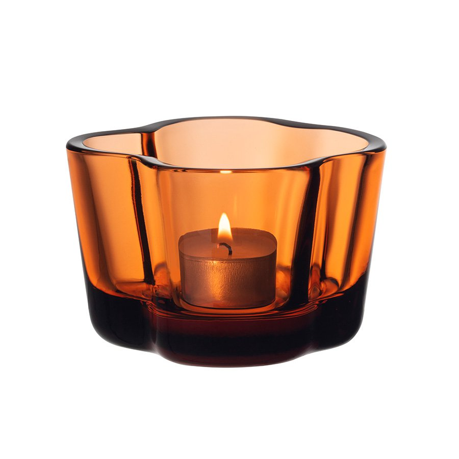 Iittala Aalto Telysholder 60mm Sevilla Orange