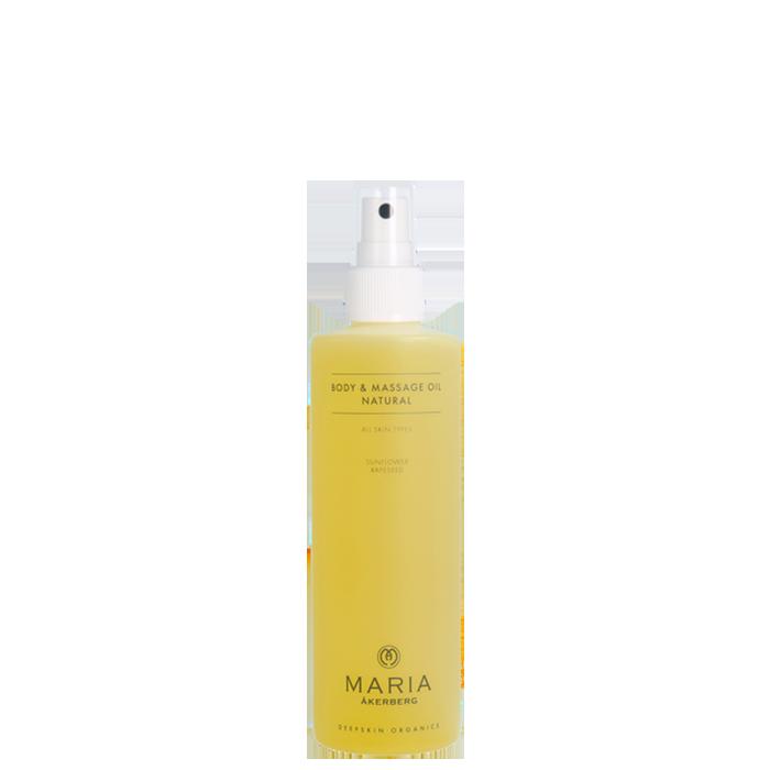 Body & Massage Oil Natural, 250 ml