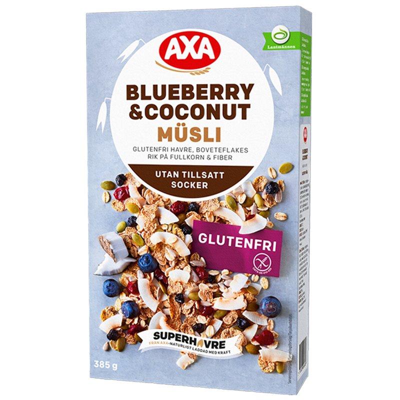Mysli Blueberry & Coconut 85g - 32% alennus