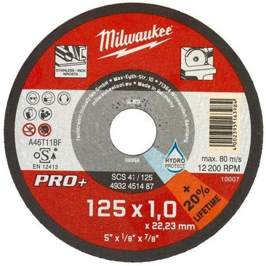 Milwaukee SCS 41 PRO+ Katkaisulaikka 125x1 mm.