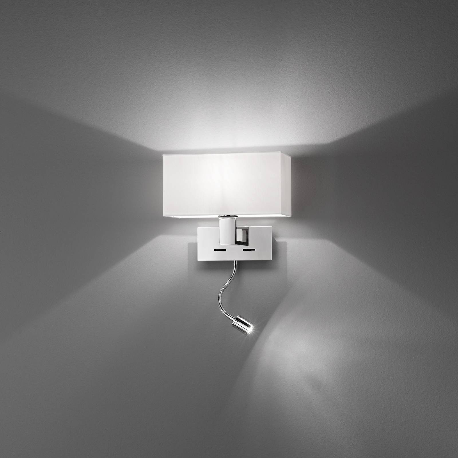 Egger Harmony Flex -seinälamppu LED-joustovarrella