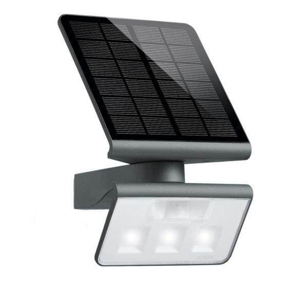 Steinel 9823 ///LED-frontlykter soldrevet, vegg, svart