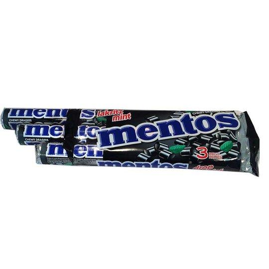 Mentos Lakritz Mint - 3-pack - 40% rabatt
