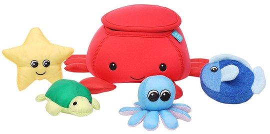 Manhattan Toy Badeleke, Krabbe Med Venner