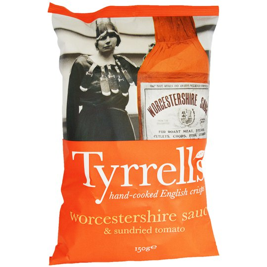"Chips ""Worcestershire"" 150g - 25% rabatt"