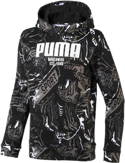 Puma Alpha Aop Hettegenser, Black 92