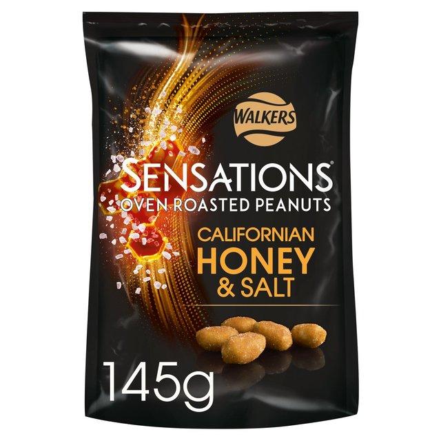 Sensations Californian Honey and Salt Oven Roasted Peanuts 145g
