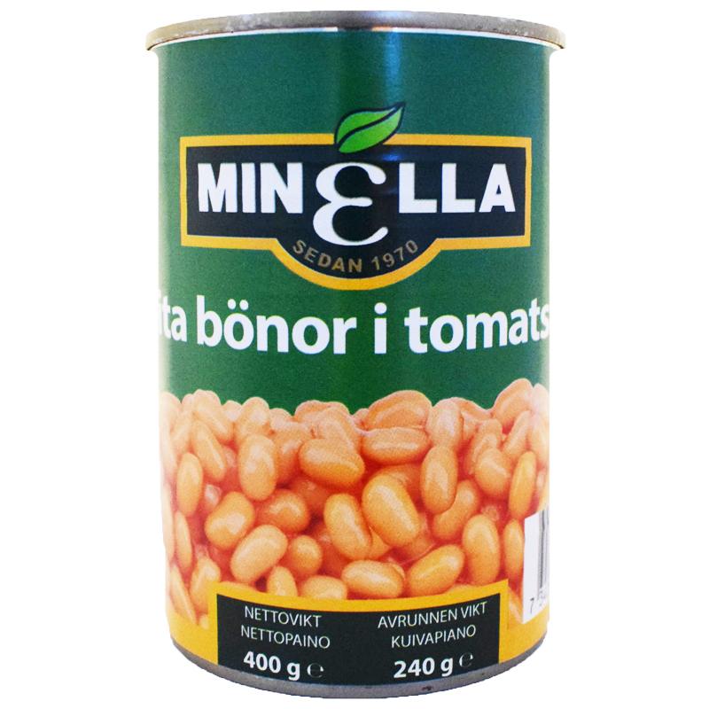 Vita Bönor Tomatsås 400g - 44% rabatt