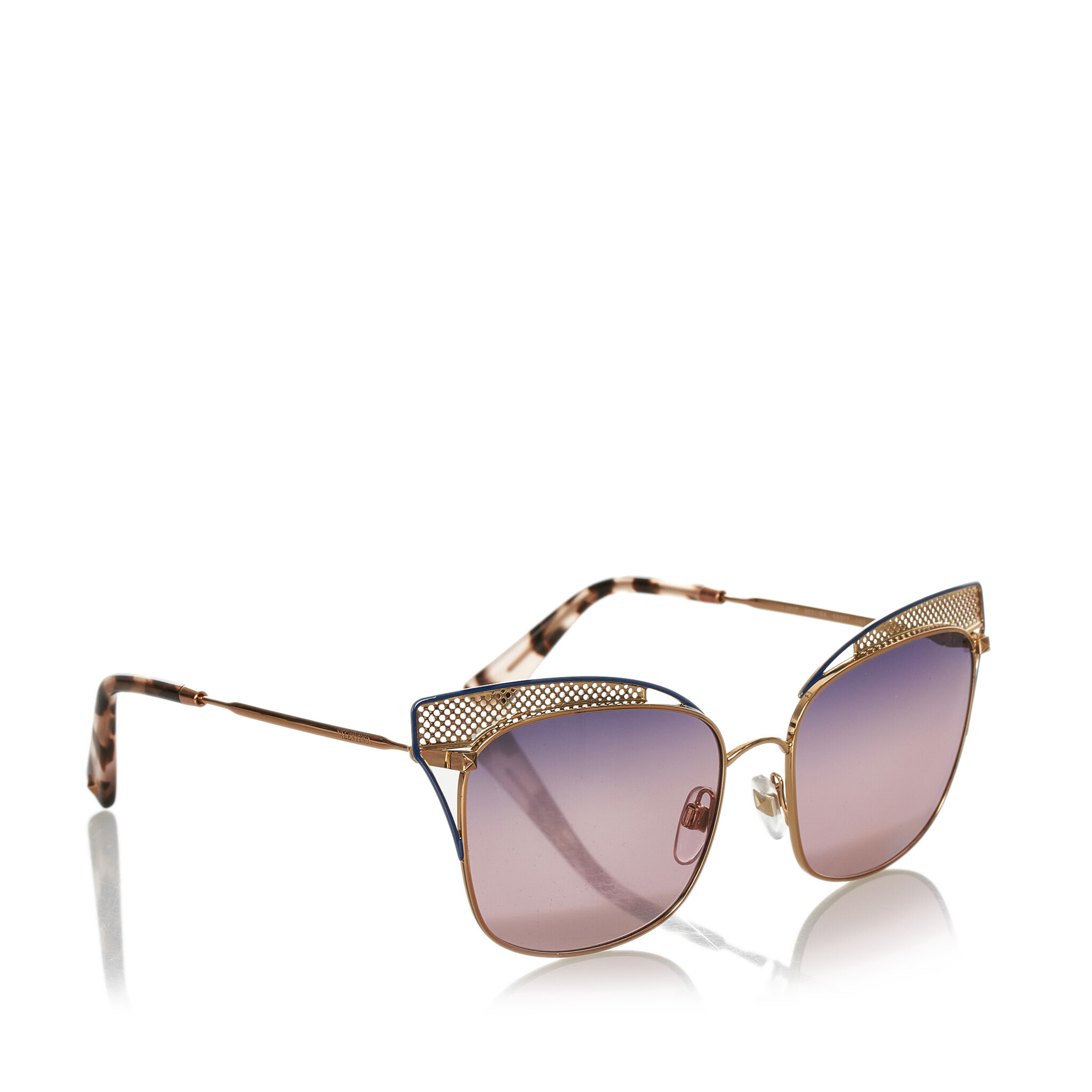 Valentino Cat Eye Tinted Sunglasses, ONESIZE
