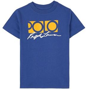 Ralph Lauren Logo T-shirt Blå 2 år