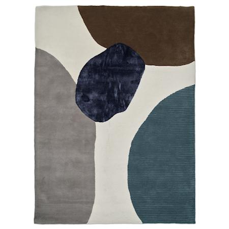 Topaz Matta Ivory/Teal 250x350 cm