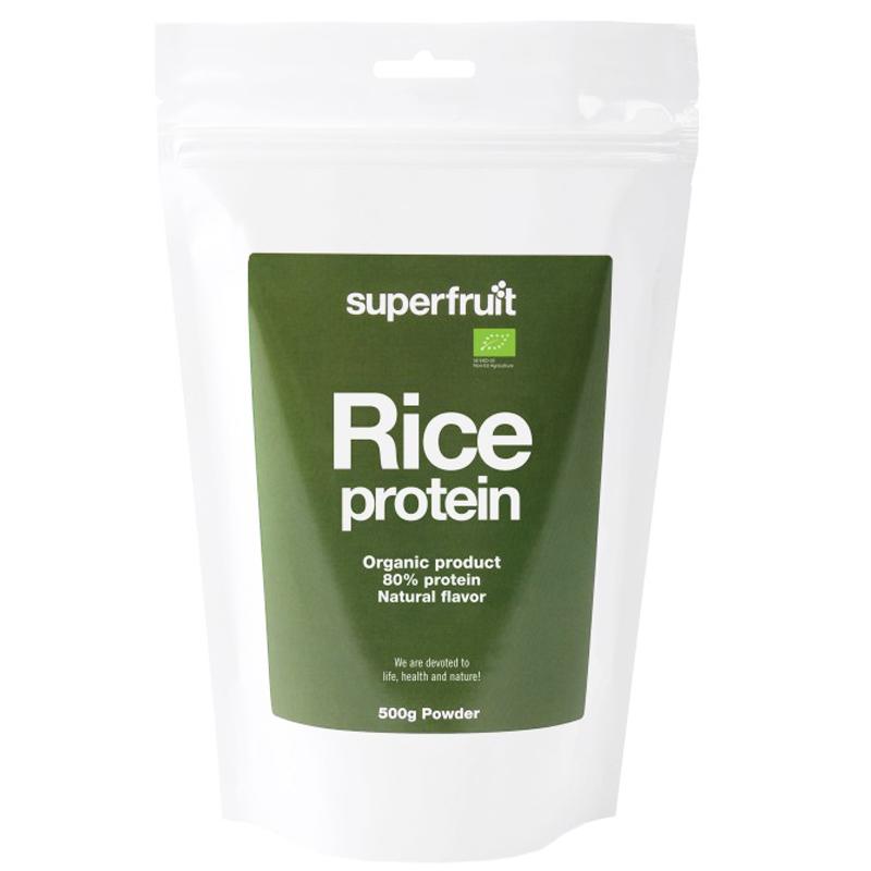 Riisiproteiinijauhe Luomu 500g - 22% alennus