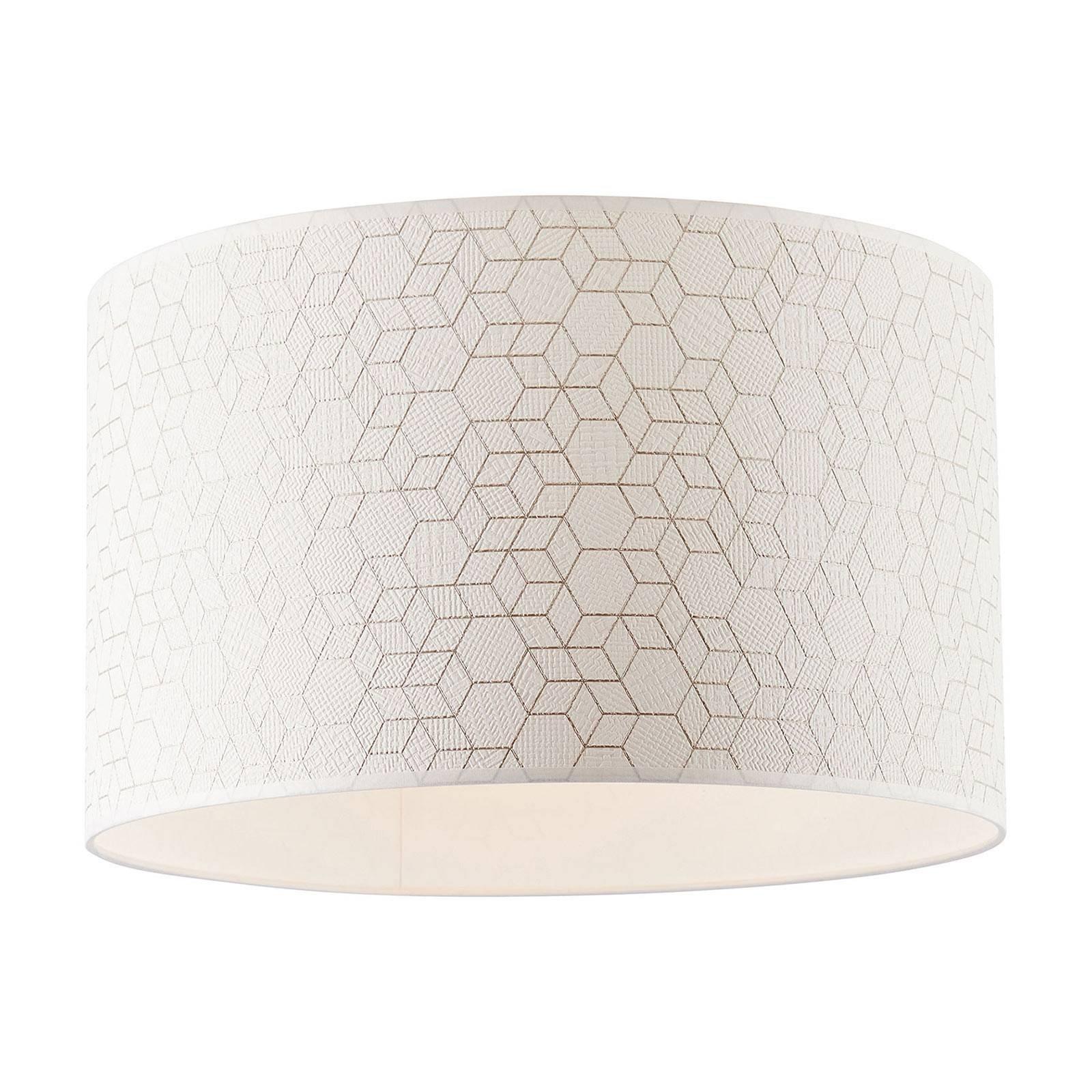 Taklampe Galance, hvit, Ø 40 cm