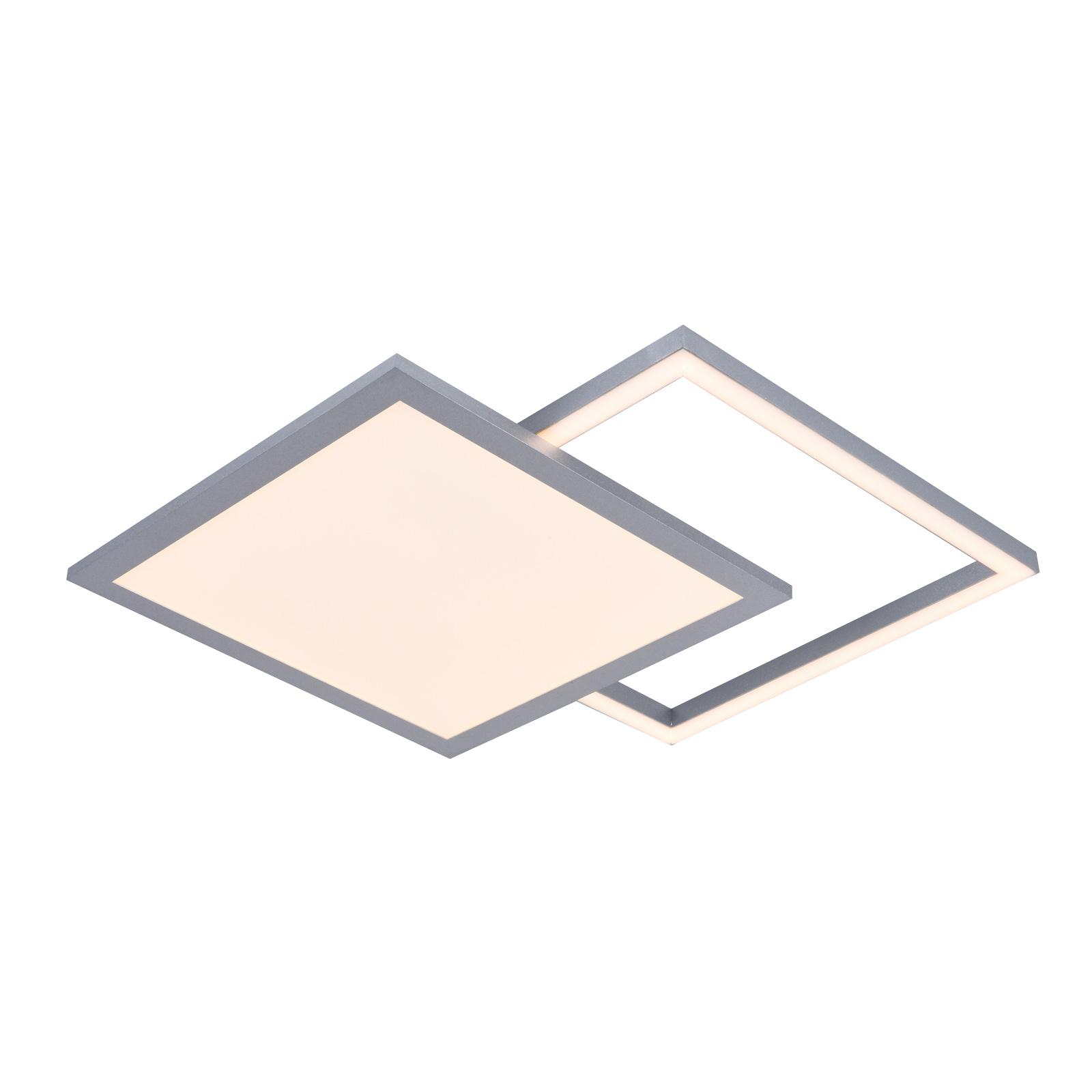 Lucande Senan -LED-kattovalaisin, neliömäinen