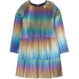 Billieblush Rainbow Metallic Klänning Flerfärgad 2 år