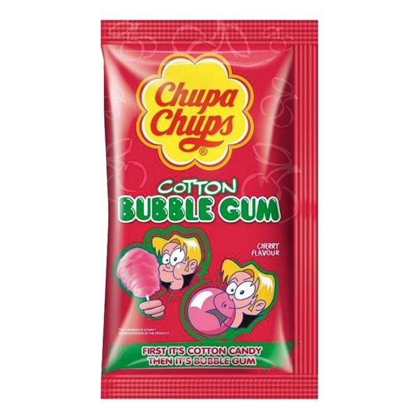 Chupa Chups Sockervadd Tuggummi Körsbär - 1-pack