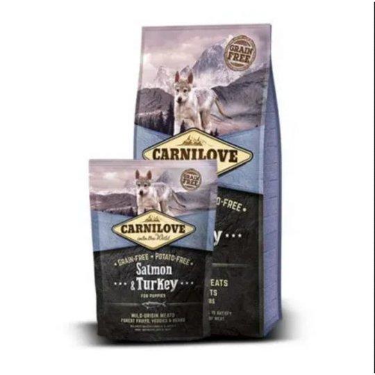 Carnilove Lax & Kalkon, Puppy (1,5 kg)