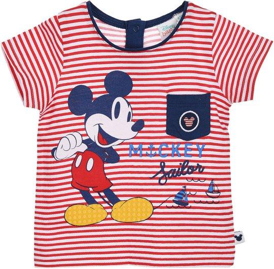Disney Mikke Mus T-Skjorte, Red, 12 Måneder