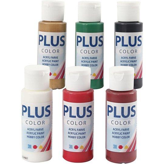 Plus Color Hobbymaling Christmas Farger