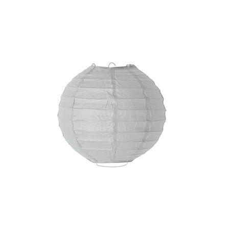 Lanterne Grå Papir 20cm